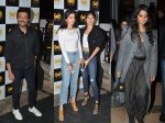 Anil Kapoor Khushi Kapoor Rhea Kapoor Boyfriend Opening Of Ministry Of Crab