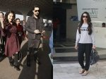 Sunny Leone Hubby Snapped Airport Karishma Kapoor Goes Casual For Day Out In City