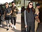 Anushka Sharma Virat Kohli Arrive In Style Airport Alia Bhatt Ranveer Singh Also Snapped