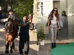 Pics Malaika Arora Steps Out Of Salon Looking Glam Taimur Continues Horse Riding Lessons