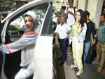 Shraddha Kapoor Spotted Post Photo Shoot Malaika Arora Smiles For Cameras After Gym