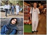 Rajkumar Barjatya Funeral Satish Kaushik Attends Sonam Kapoor Madhuri Dixit Mourn Death