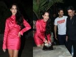 See Pictures Nora Fatehi Birthday Bash Varun Dhawan Pooja Hegde Others Attend