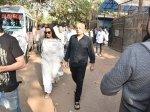 Mahesh Bhatt Soni Razdan Other Celebs Attend Funeral Of Producer Rajkumar Barjatya