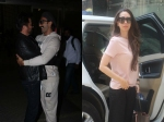 Ranveer Singh Anil Kapoor Share Warm Hug At Airport Karishma Kapoor Spotted In The City