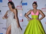 Janhvi Kapoor Looks Smoking Hot At Hello Hall Of Fame Awards Sonam Kapoor Stuns On Red Carpet