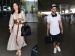 Pictures Sunny Leone Smiles For Cameras At Airport Kunal Khemu Cool Airport Look