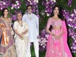 Akash Shloka Wedding Janhvi Kapoor Looks Like Princess Bachchans Make Classy Appearance