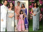 Aishwarya Rai Bachchan Shahrukh Khan Priyanka Chopra Spotted At Akash Ambani Wedding See Pictures