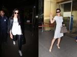 Deepika Padukone Slays Casual Chic Airport Look Kangana Ranaut Makes Heads Turn At Airport
