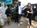 See Pictures Kajol Spotted In The City Farhan Akhtar Snapped After A Salon Session