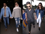 Deepika Padukone Ranveer Singh Anushka Sharma Virat Kohli Drop Major Couple Goals At Airport