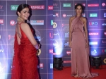 News18 Reel Movie Awards: Alia Bhatt Looks Gorgeous In A Red Saree; Shibani Dandekar Stuns The Crowd