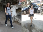 Janhvi Kapoor Heads For A Workout Session Sussanne Khan Indulges In A Salon Session