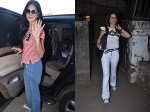 Katrina Kaif Goes Out And About In The City Shweta Nanda Bachchan Snapped Before Salon Session
