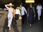 Glam Divas Kangana Ranaut Sonam Kapoor Slay Their Weekend Airport Looks View Pictures