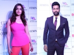Alia Bhatt Stuns In Pink At Maharashtrian Achievers Awards Vicky Kaushal Looks Totally Dapper