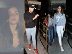 Hrithik Roshan Sussanne Khan Take Their Kids Out For Movie Alia Bhatt Snapped At Kjo House