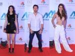 Tiger Shroff Disha Patani Ananya Pandey Other Celebs On The Red Carpet Of Matrix Fight Night