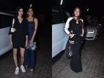 Sonakshi Sinha Sara Ali Khan Ananya Pandey Others At Star Studded Screening Luka Chuppi