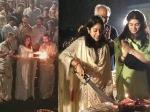 Janhvi Kapoor S 22nd B Day Celebrations Varanasi From Ganga Aarti Cutting Cake