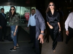 Deepika Padukone & Anushka Sharma Get Papped At The Airport: Check Out Their Airport Looks!