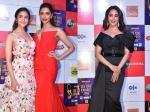 Alia Bhatt Deepika Padukone Share Frame At Zee Cine Awards 2019 Madhuri Dixit Looks Surreal
