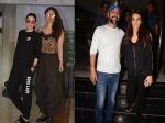 Kareena Kapoor Khan Karishma Kapoor Sisters Day Out Kriti Sanon Snapped At Cinemas