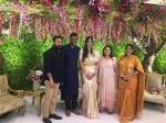 Vishal Anisha Reddy Engagement Photos Mohanlal Khushbu