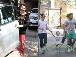 Taimur Ali Khan Enjoys Family Day Out Varun Dhawan Snapped At Dad David Dhawan Office