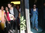 Varun Dhawan Receives Flowers From Fan At Airport Alia Bhatt Goes Out For Sunday Lunch