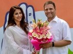 Urmila Matondkar Joins Congress Party Meets Rahul Gandhi Pitted Against Bjp Gopal Shetty