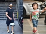 Shahid Kapoor Snapped Post Work Out Session Taimur Super Happy To Go To Play School