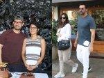 Aamir Khan Cuts Birthday Cake With Media Arjun Rampal Spotted With His Girlfriend Gabriella