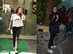 Parineeti Chopra Spotted After Ad Shoot Malaika Arora Steps Out Of Salon Looking Stylish
