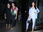 Pics Jacqueline Fernandez Kiran Rao Anupama Chopra Others Oscar Winner Guneet Monga Party