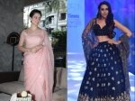 Kangana Ranaut Celebrates Birthday With Media Karishma Kapoor Stuns On Ramp