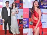 Zee Cine Awards 2019 Arbaaz Khan Georgia Andriana Arrive Together Malaika Arora Goes Red Hot