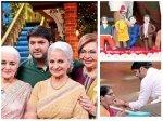 Helen Asha Parekh Waheeda Rehman Fans Nostalgic Kiku Mocks Kapil Celebrates Pre Birthday Tkss Sets