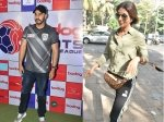 Arjun Kapoor Attends Football Event Shweta Nanda Bachchan Gets Papped In The City