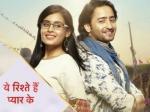 Yeh Rishtey Hain Pyaar Ke First Impression Shaheer Sheikh Rhea Sharma Show Impress Fans Yrhpk Trend