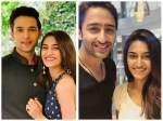 Erica Fernandes Asked Choose Between Parth Samthaan Shaheer Sheikh Are Erica Parth In Love Real
