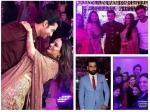 Ssharad Malhotra Ripci Exchange Rings Vivian Dsena Kratika Sengar Adaa Shashank Others At Sangeet