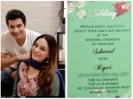 Ssharad Malhotra Ripci Bhatia Wedding Date Revealed Check Out Wedding Invitation Pics