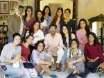 Irrfan Khan Radhika Madan Co Are All Smiles On The Sets Of Angrezi Medium