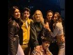 Priyanka Chopra Nick Jonas Chill With The Jonas Brothers And J Sisters