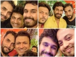 PICS! Yuva Rajkumar's Wedding Ritual Graced By Celebs; Shivanna & Appu Dance At Sangeet Ceremony