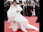 Aishwarya Rai Bachchan Looks ENCHANTING In An Icy White Feathered Gown On Cannes 2019 Red Carpet!