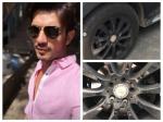 Arjun Bijlani Escapes Major Accident Someone Loosen His Car Tyre Bolts Arjun Recalls Scary Incident