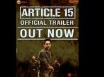 Article 15 Trailer Ayushmann Khurrana Hard Hitting Investigative Drama Will Leave You Thinking